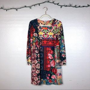 Johnny Was | Verdell Patchwork Dress S